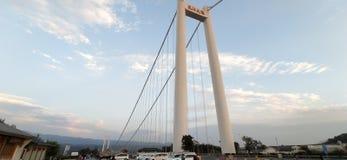 Ponte di Tengchong, provincia di Yunnan, Cina immagine stock libera da diritti