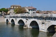 Ponte di Tiberio lizenzfreie stockfotografie