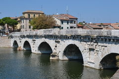 Ponte di Tiberio Royalty Free Stock Photography