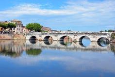 Ponte di Tiberius fotografie stock libere da diritti