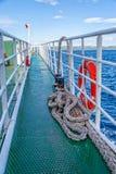 Ponte di traghetto Immagini Stock
