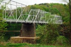 Ponte di traghetto di Dingmans fotografie stock libere da diritti