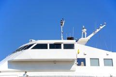 Ponte di traghetto, Rethymno Fotografia Stock Libera da Diritti