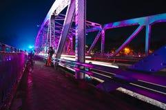 Ponte di Trang Tien Fotografie Stock