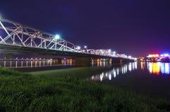 Ponte di Trang Tien Fotografia Stock Libera da Diritti