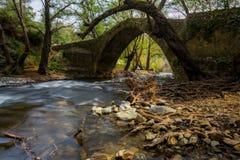 Ponte di Tzielefos Fotografia Stock