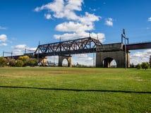 Ponte di uccisione di Bronx fotografie stock