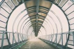 Ponte di vetro fotografie stock libere da diritti
