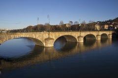 Ponte di Vittorio Emanuele I Fotografie Stock Libere da Diritti