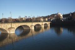 Ponte di Vittorio Emanuele I Fotografia Stock Libera da Diritti