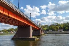 Ponte di Vytautas il Grande Immagine Stock Libera da Diritti