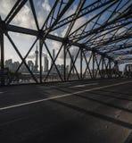 Ponte di Waibaidu Fotografie Stock Libere da Diritti