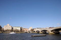 Ponte di Waterloo, Londra Immagini Stock Libere da Diritti
