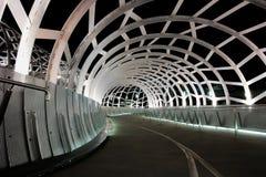 Ponte di web, fiume di Yarra, Melbourne Fotografia Stock