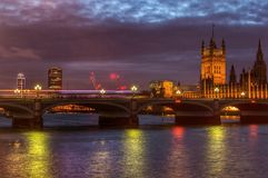 Ponte di Westminster Immagine Stock
