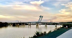 Ponte di Whangarei Fotografia Stock