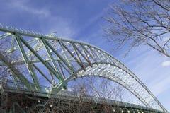 Ponte 3 di Widnes Runcorn Fotografie Stock