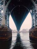 Ponte di Williamsburg Immagine Stock Libera da Diritti