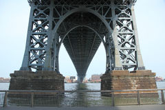 Ponte di Williamsburg in New York Fotografia Stock