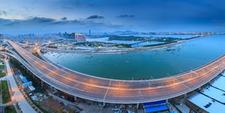 Ponte di Xiamen Xinglin, Cina fotografia stock libera da diritti