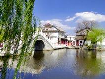 Ponte di XiZhou immagini stock