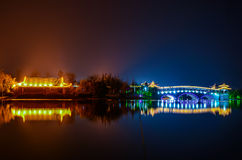 Ponte di Xuzhou Cina fotografia stock