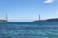Ponte di Yavuz Sultan Selim da Costantinopoli Fotografia Stock Libera da Diritti