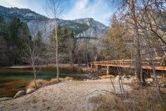 Ponte di Yosemite Fotografia Stock