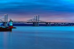 Ponte di zeta di Tappan - New York fotografie stock