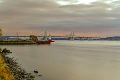 Ponte di zeta di Tappan - New York fotografie stock libere da diritti