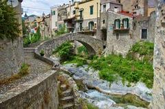 Ponte di Zuccarello Fotografia Stock
