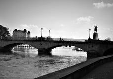 Ponte di Zurigo Fotografia Stock