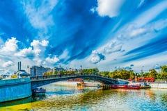 Ponte do amante Fotos de Stock Royalty Free