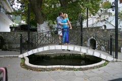 Ponte do amor Foto de Stock