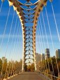 A ponte do arco da baía de Humber fotografia de stock