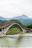 Ponte do arco-íris Imagem de Stock