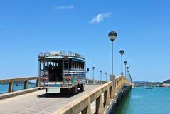 Ponte do beira-mar Imagens de Stock Royalty Free
