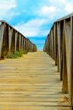 Ponte do beira-mar Imagens de Stock