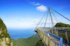 Ponte do céu na ilha de Langkawi Imagens de Stock