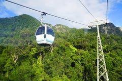 Ponte do céu na ilha de Langkawi Foto de Stock