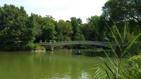 Ponte do Central Park de New York fotos de stock