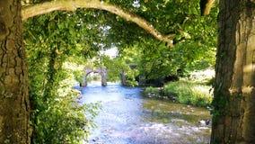 ponte do deerpark, terras do castelo, cidade n de antrim Mim Fotos de Stock