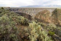 Ponte do desfiladeiro de Rio Grande Foto de Stock Royalty Free