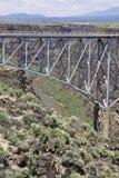 Ponte do desfiladeiro de Rio Grande foto de stock