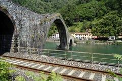 Ponte do diabo fotografia de stock royalty free