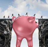 Ponte do dinheiro ilustração stock