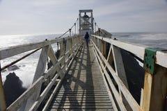 Ponte do farol de Bonita do ponto imagens de stock