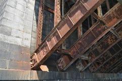 Ponte do ferro fotografia de stock