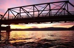 Ponte do ferro Foto de Stock