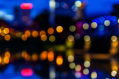 Ponte do ferro de Bokeh imagem de stock royalty free